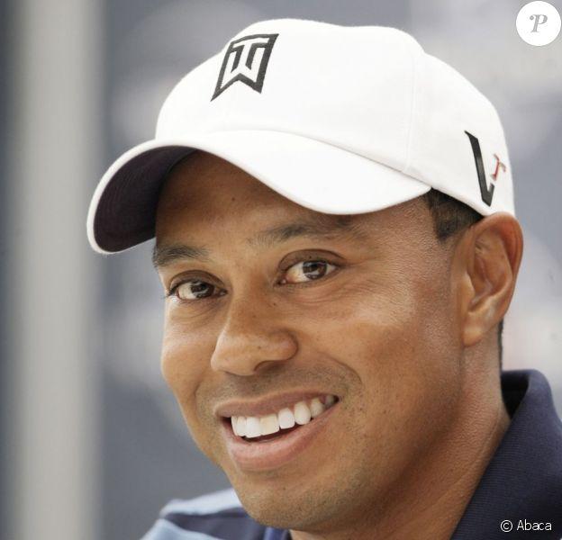 Tiger Woods, le 29 juin 2010 à Newton Square aux États-Unis