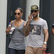 Alicia Keys : Sortie tendresse avec son mari SwizzBeatz et leur magnifique Egypt