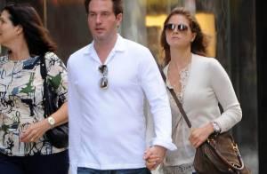 La princesse Madeleine et Chris O'Neill main dans la main, lovers in NY