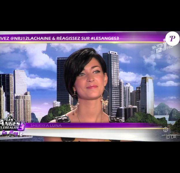 La sympathique Sheryfa Luna dans Les Anges de la télé-réalité 3 - Le Mag, jeudi 13 octobre 2011 sur NRJ 12
