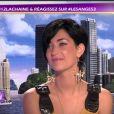 Sheryfa Luna dans Les Anges de la télé-réalité 3 - Le Mag, jeudi 13 octobre 2011 sur NRJ 12