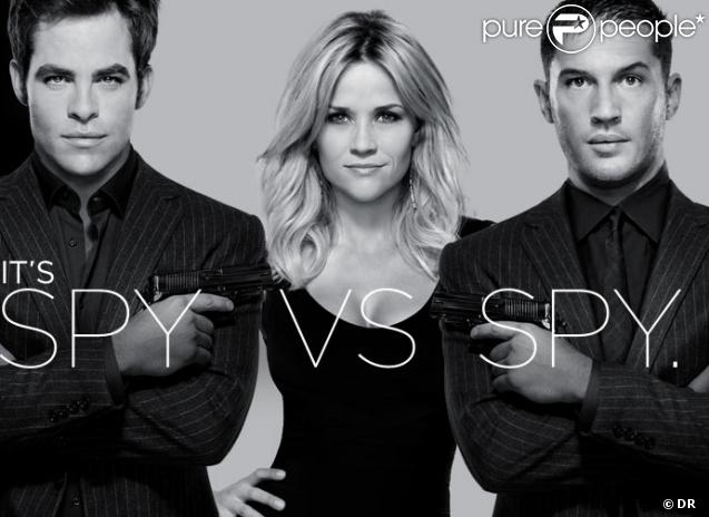 La bande-annonce de This means war, avec Reese Witherspoon, Chris Pine et Tom Hardy.