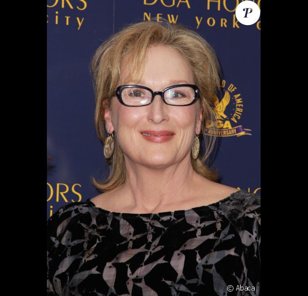 Meryl Streep à New York le 13 octobre 2011.