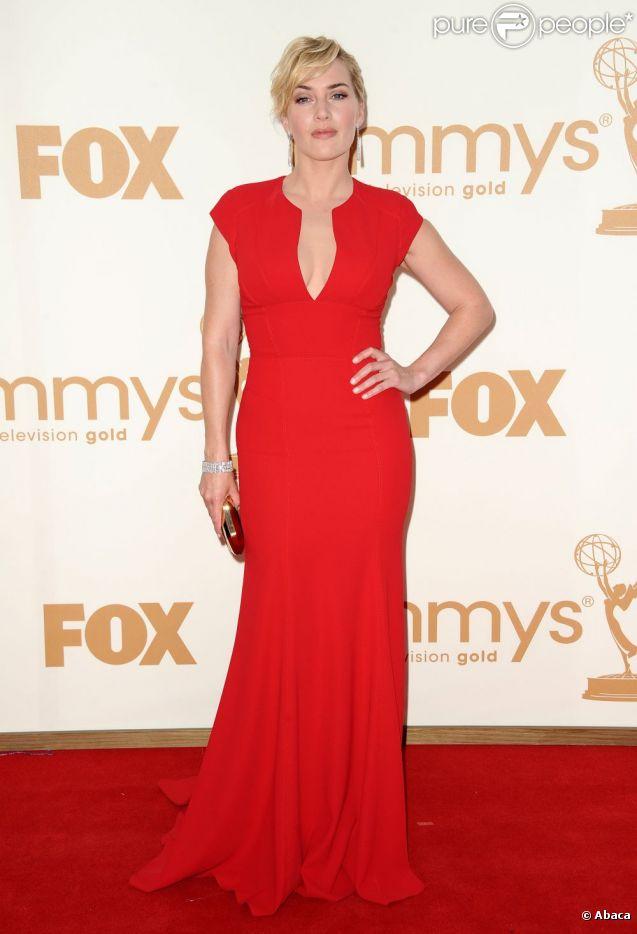 Kate Winslet aux Emmy Awards à Los Angeles, en septembre 2011.