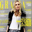 Diane Kruger en couverture de Grazia, édition du 14 septembre 2011.