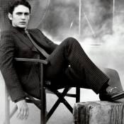James Franco renfile son costume de top model pour un service de luxe
