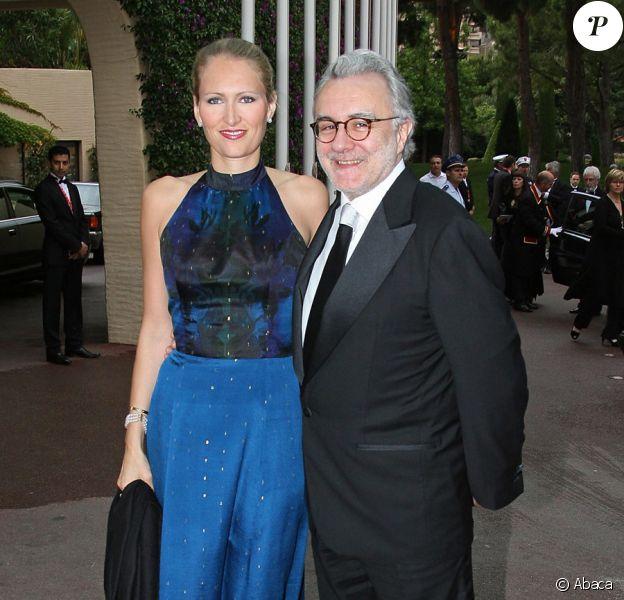 Alain Ducasse et sa femme Gwenaëlle en mai 2007