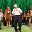 Phil Collins à Hambourg pour la comédie musicale Disney, le 22 octobre 2011