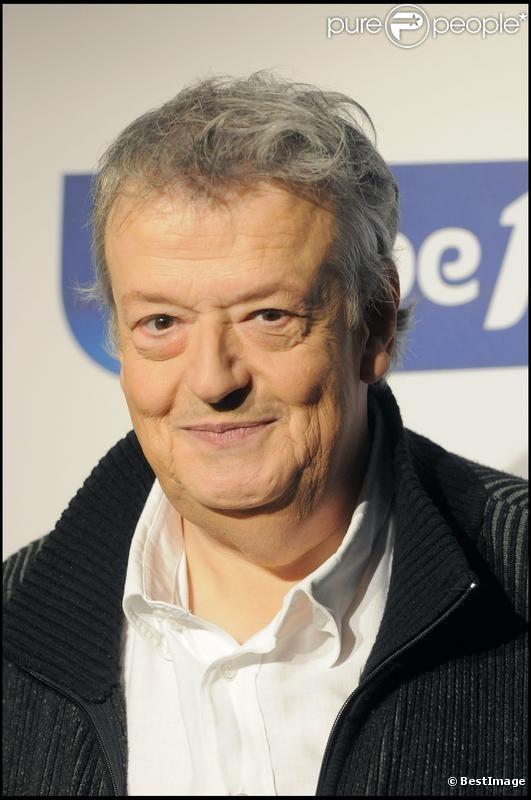 Guy Carlier en août 2009 chez Europe 1 pour la rentrée