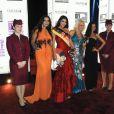 Miss Allemagne ors de la présentation du film Or Noir au festival du film de Tribeca à Doha le 25 octobre 2011