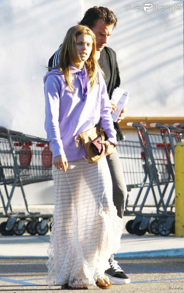 AnnaLynne McCord et Dominic Purcell, à Los Angeles, le 7 octobre 2011.