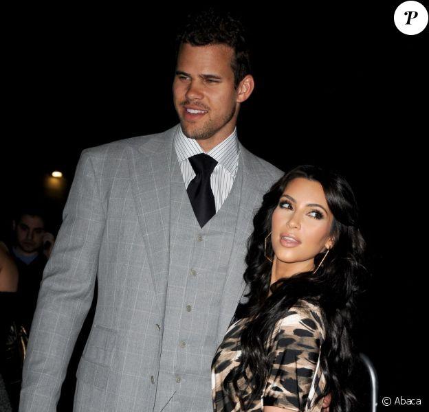Kim Kardashian et Kris Humphries à Los Angeles, en août 2011.