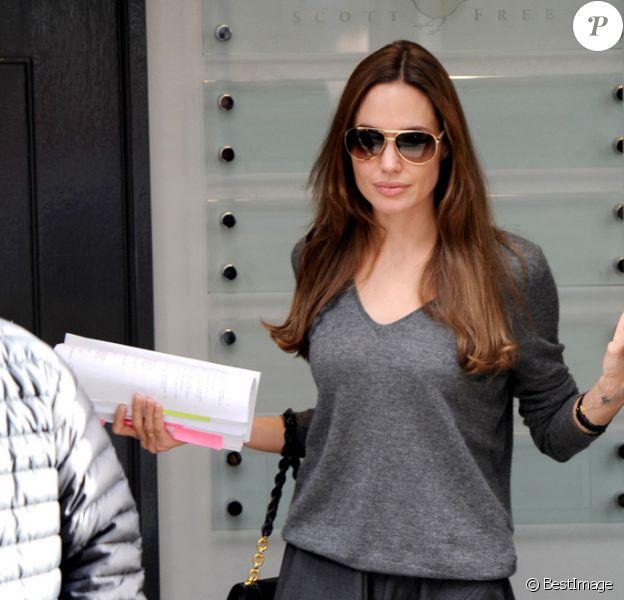 Angelina Jolie à Londres en septembre 2011.