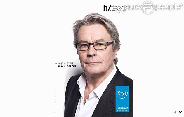 Alain Delon pour Krys