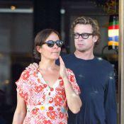 Simon Baker et sa femme : Une nouvelle voiture, ça se fête par un petit câlin