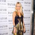 Poppy Delevingne lors de la soirée Harper's Bazaar à Londres, le 7 novembre 2011