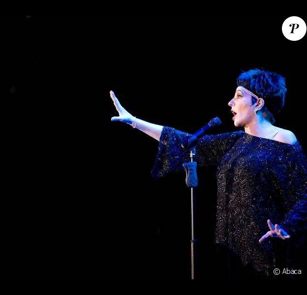 Liza Minnelli éblouissante sur scène