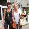 Anne Le Nen et Muriel Robin, à Paris, le 5 juin 2011.