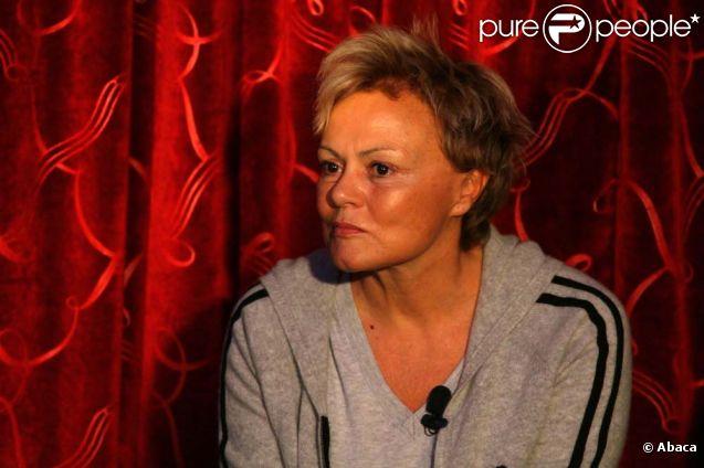 Muriel Robin, à Lille, le 26 octobre 2011.