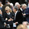 Les obsèques de Loulou de la Falaise, jeudi 10 novembre 2011, à l'église Saint-Roch à Paris