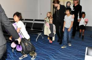 Angelina Jolie et Brad Pitt : Leurs adorables enfants accros à leurs peluches