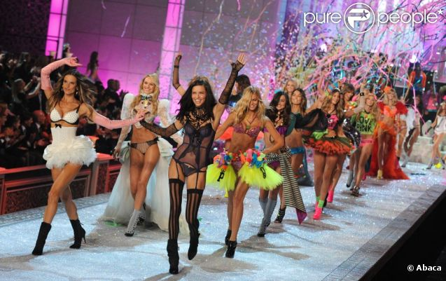 Défilé Victoria's Secret le 9 novembre 2011 à New York