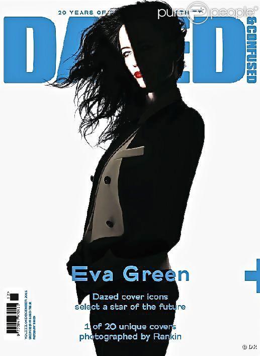 Eva Green, en couverture du magazine Dazed And Confused.