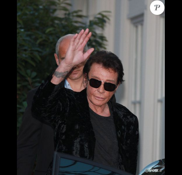 Johnny Hallyday en septembre 2011 à Paris