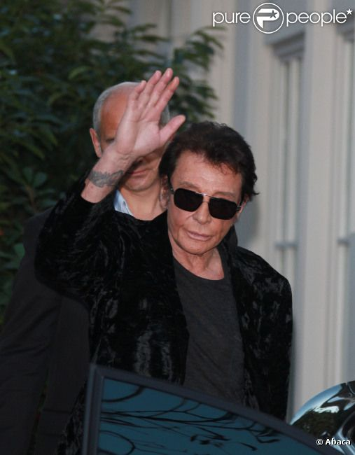 Johnny Hallyday en septembre 2011 à Paris