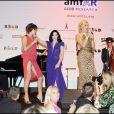 Milla Jovovich au gala de l' amFAR