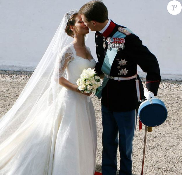Mariage de Marie Cavallier et de Joachim de Danemark