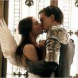 Claire Danes et Leonardo DiCaprio dans Roméo + Juliette (1996).