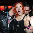 """""""Anaïs Delva et Golan Yosef (Dracula) au club Six Seven à Paris le 19 novembre 2011"""""""
