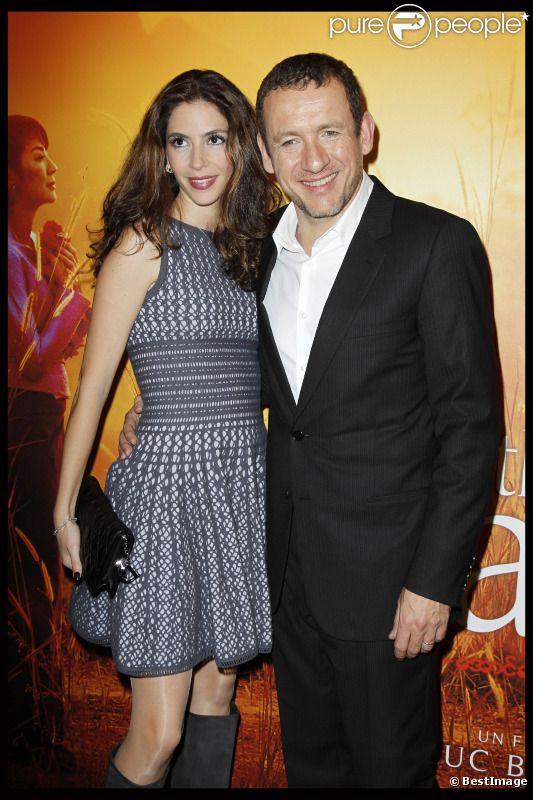 Yaël et Dany Boon lors de l'avant-première du film The Lady à Paris le 22 novembre 2011