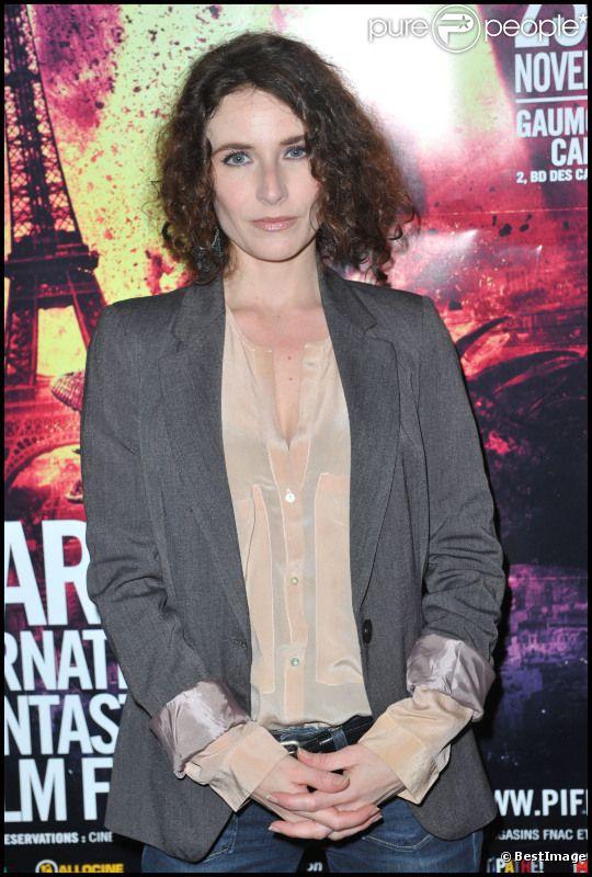 Elsa Lunghini lors de l'ouverture du premier festival international du film fantastique, à Paris, le 23 novembre 2011
