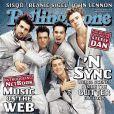 Justin Timberlake et les 'N Sync en couv' du Rolling Stone de mars 2000.
