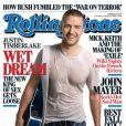 Guitare et t-shirt mouillé : il suffit de pas grand chose à Justin Timberlake pour briller. Septembre 2006.