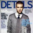 Le beau gosse Justin Timberlake fait la Une du magazine Details. Avril 2007.