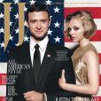 Les stars de  In Time  Justin Timberlake et Amanda Seyfried posent en couv' du magazine W. Octobre 2011.
