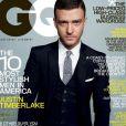 Justin Timberlake, élégant en costume trois pièces pour faire la couv' de GQ. Mars 2009.