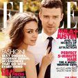 Justin Timberlake et Mila Kunis, partenaires à l'écran dans Sexe Entre Amis, le sont également sur papier glacé grâce au magazine Elle. Septembre 2011.