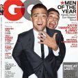 Les deux interprètes de  History Of Rap , Justin Timberlake et Jimmy Fallon, nommés Homme De L'année par GQ. Décembre 2011.