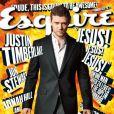 Octobre 2011 : Justin Timberlake fait la couv' du magazine Esquire.
