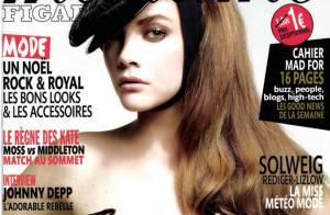 Solweig Rediger-Lizlow : Avec Michel Denisot, elle rayonne en top model sexy