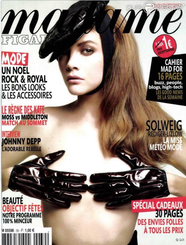 Couverture de Madame Figaro Pocket avec Solweig Rediger-Lizlow