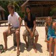 Olivier, Anthony et Florence dans Koh Lanta 11, vendredi 25 novembre 2011, sur TF1