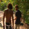 Laurent et Martin dans Koh Lanta 11, vendredi 25 novembre 2011, sur TF1