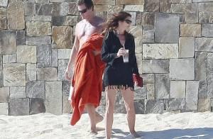Cindy Crawford : 45 ans et une vraie beauté sur la plage en famille