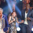 Seal lors de l'enregistrement de l'émission Les années Bonheur, diffusée le 10 décembre 2011 sur France 2