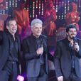 Le trio de Notre Dame de Paris reformé lors de l'enregistrement de l'émission Les années Bonheur, diffusée le 10 décembre 2011 sur France 2